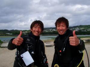 沖縄ダイビングIDC合格者